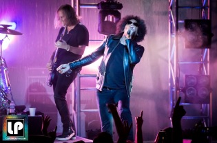 Jerry Cantrell and William Duvall perform with Alice in Chains at The Masonic, San Francisco. Photo by Clay Lancaster.